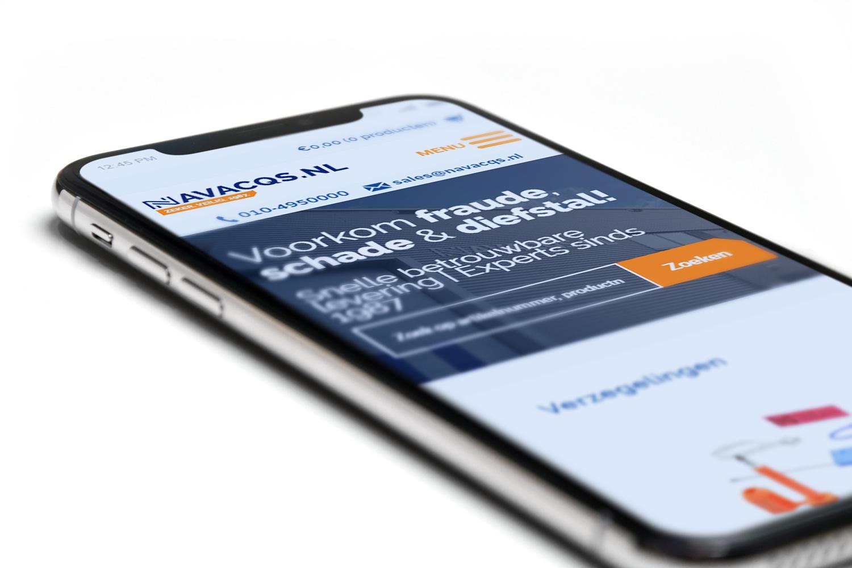 WordPress webshop Navacqs