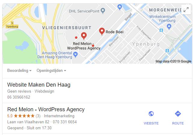 lokale-zoekresultaten