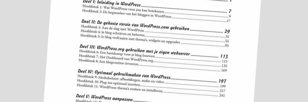 Top 3 Nederlandse WordPress boeken
