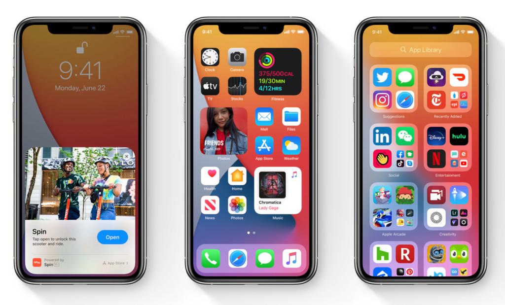Trend app grid